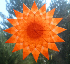 Autumn Window Star