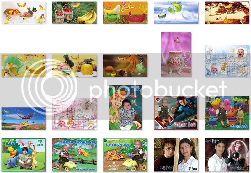 montajes para fotos de niños