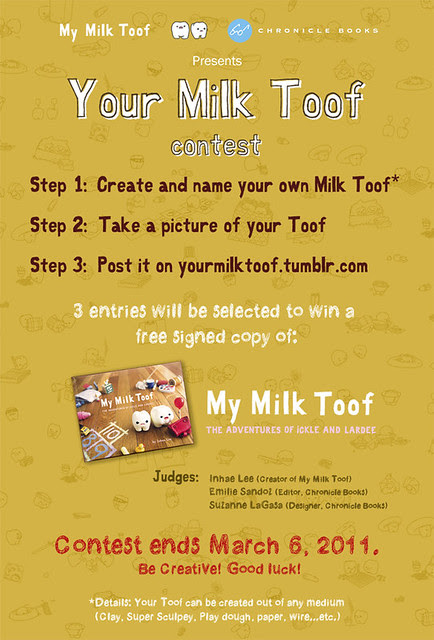 Your Milk Toof contest
