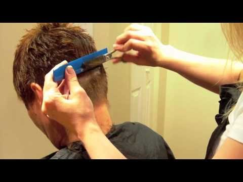 Hairstylist How-to: How to do a Short Layered Women's ...