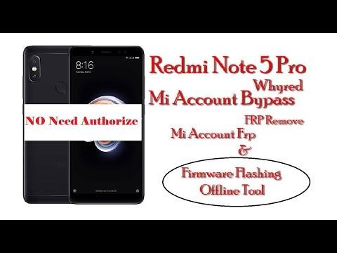 Redmi note 5 pro mi account frp offline free mi flash tool testesd free by softichnic