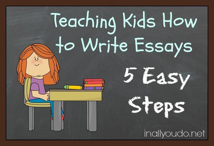 teaching kids how to write an essay
