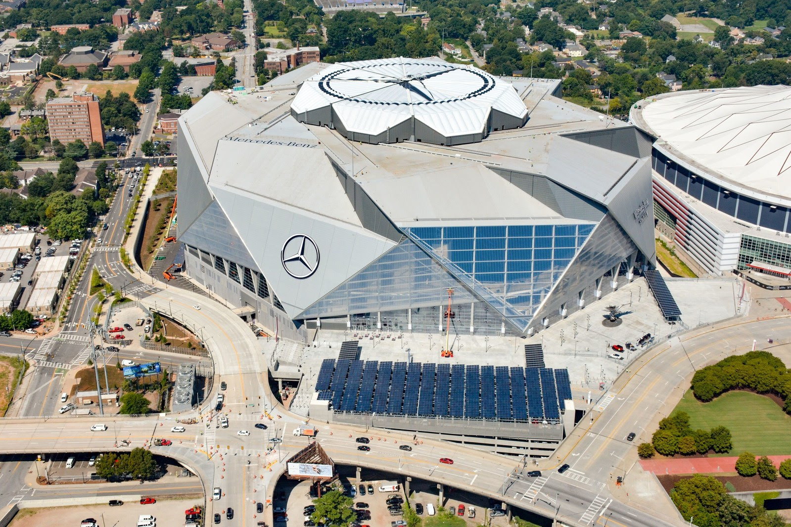 Mercedes-Benz Stadium adds 1.6 - Smart Energy Decisions