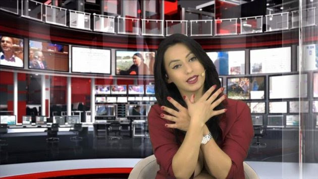 Enki Bracaj - 'Albanian woman shows up to news anchor casting half naked. Think she got the job?' - Yahoo News