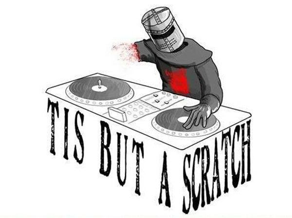MONTY PYTHON AND THE HOLY GRAIL does hip-hop.