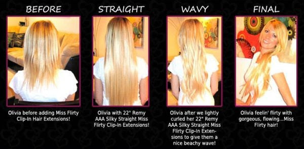 human hair extensions on etsy