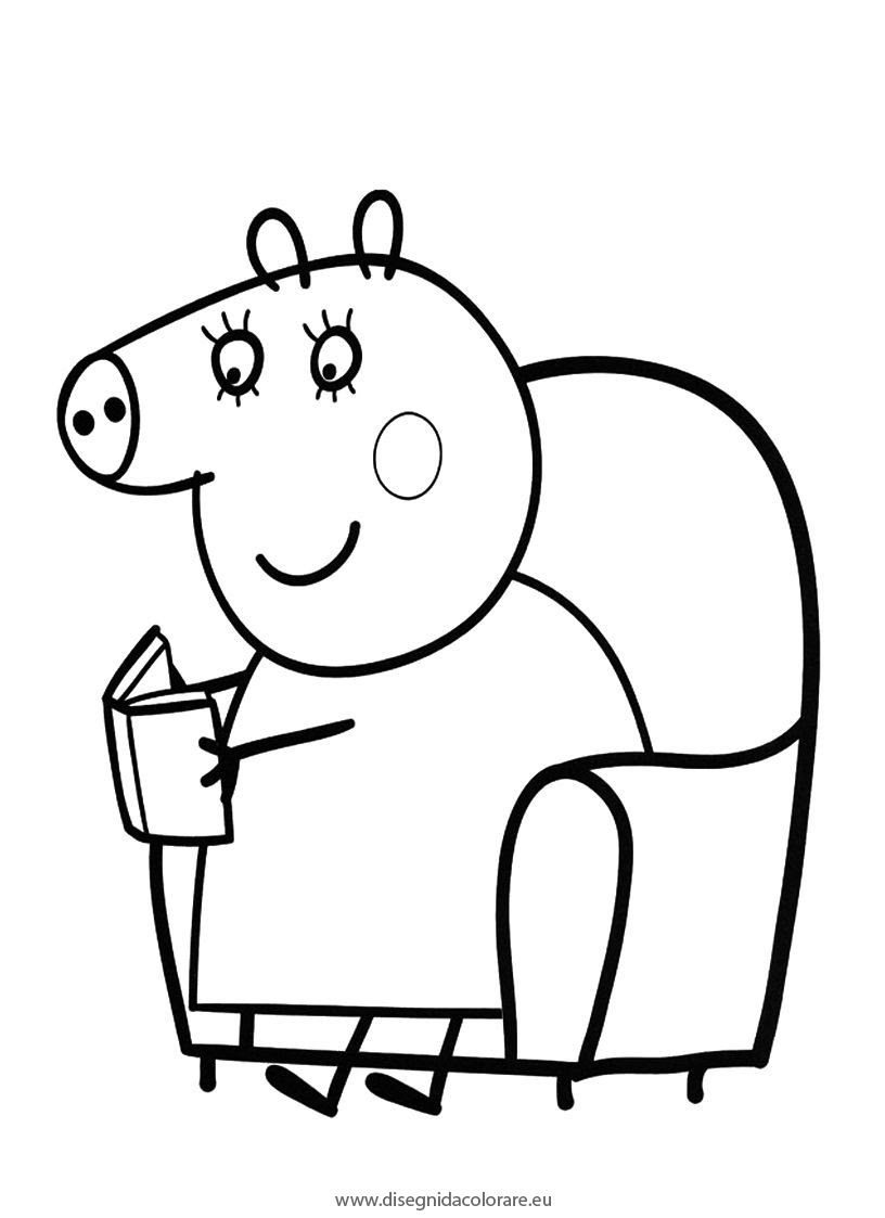 Coloriage peppa pig gratuit dessin a imprimer 85