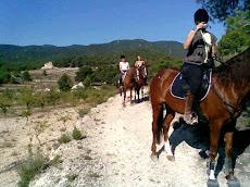 Fotos de los jinetes amigos de los caballos