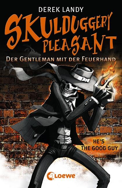 [Rezension] Skulduggery Pleasant - Der Gentleman mit der Feuerhand - Derek Landy