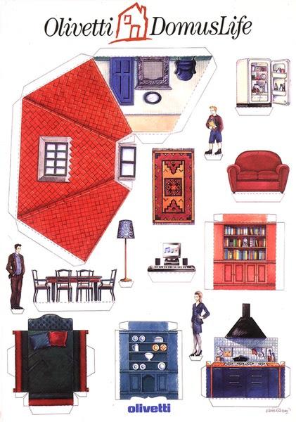 Affiche Olivetti DomusLife, 1969