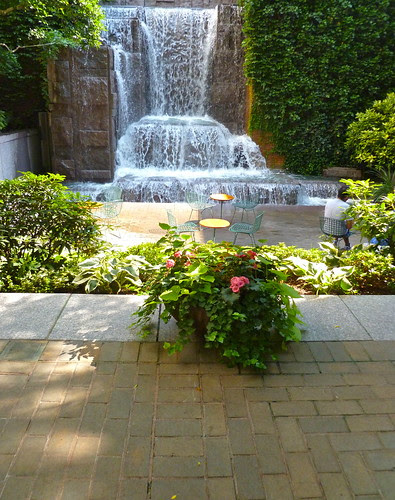 Greenacre Park, Lower Patio Level Near Waterfall, New York City