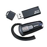 バッファローコクヨサプライ BUFFALO ヘッドセット Bluetooth 2.0対応 USBレシーバ付 BSHSBE01DBK