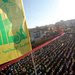 Shiite Muslims gathered Friday for a televised speech by Hasan Nasrallah, Hezbollah's leader.
