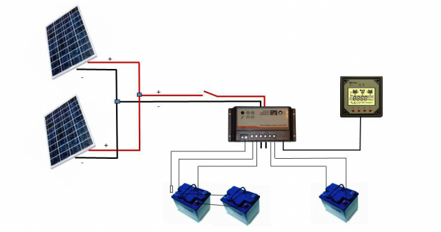 24 Volt Solar Wiring Diagram Double Pole Switch With Pilot Light Wiring Diagram Light Switch Yenpancane Jeanjaures37 Fr