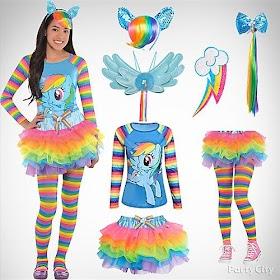 Free Printable Halloween Costumes Rainbow Dash