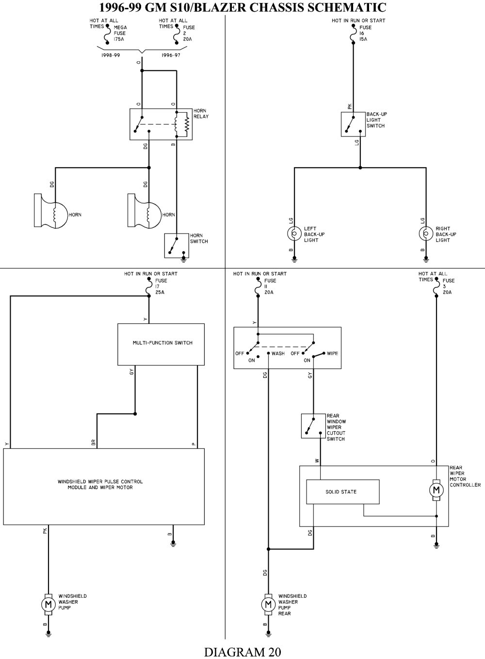 D043fdb Gm Light Switch Wiring Diagram 1984 S10 Wiring Library