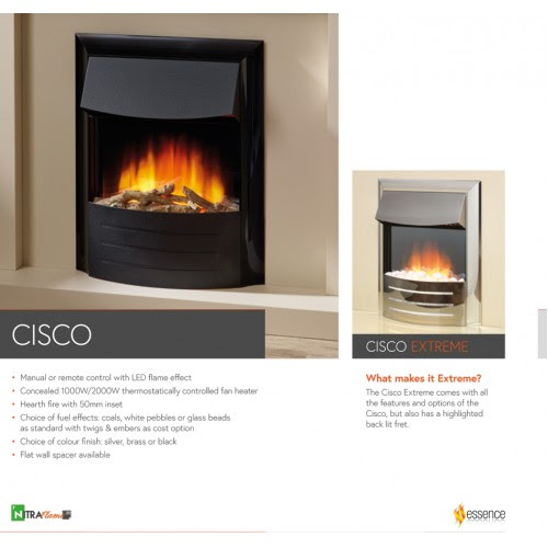Flame Essence Cisco Electric Fire
