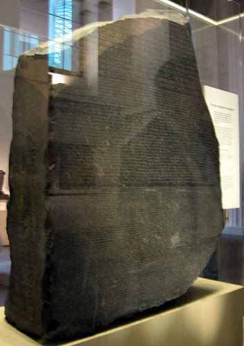 The Rosetta Stone by OliverN5.