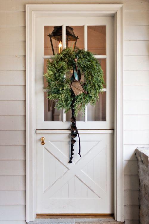 Dutch Door.  http://www.styleblueprint.com/home-and-garden/garden-variety-holidiy/#  photo by Wiff Harmer