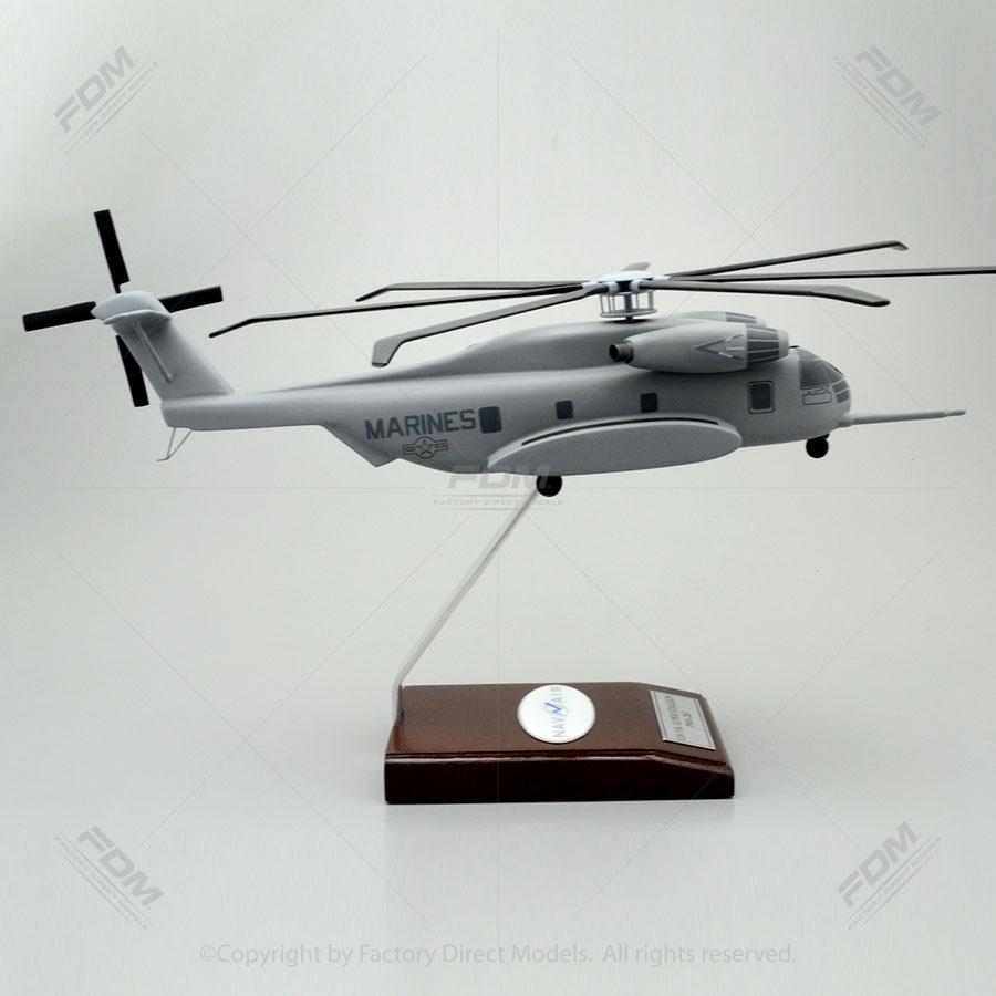 Sikorsky CH 53K Sea Stallion NAV AIR Model Factory