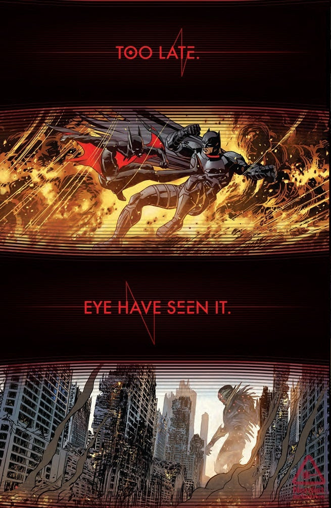 Futures End Posters Tease the Future of Batman, Superman and More