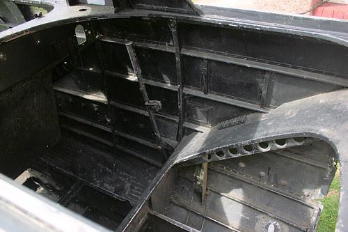 Rear Cockpit Stbd
