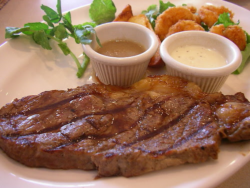 Eating steak instead of carbohydrates seems to be good for cholesterol