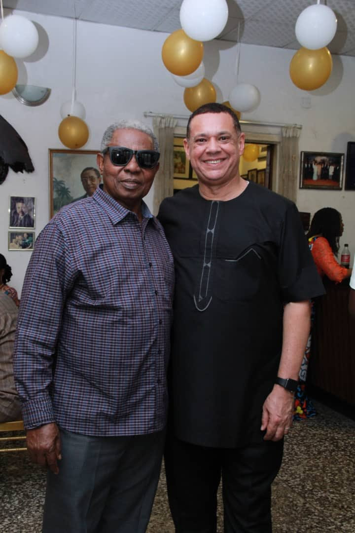Image result for images of Ben Murray-Bruce shares photos from his mum's 93rd birthday celebration