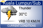 Click for the latest Kuala Lumpur / Subang weather forecast.