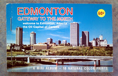 Vintage Edmonton Photo Booklet