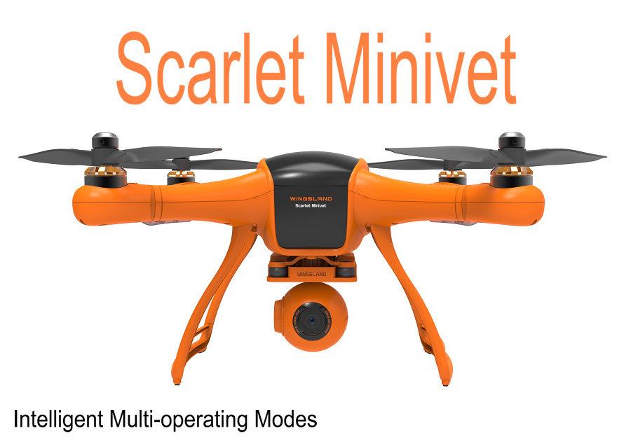 Wingsland Scarlet Minivet Quadcopter