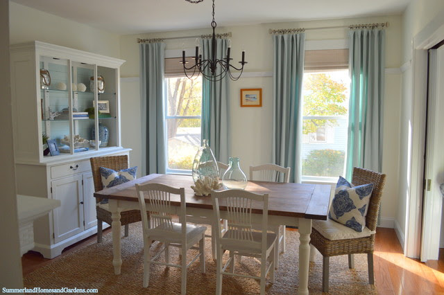 Photos Of Coastal Inspired Dining Rooms