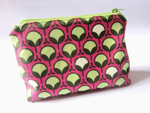 makeup pouch zipped