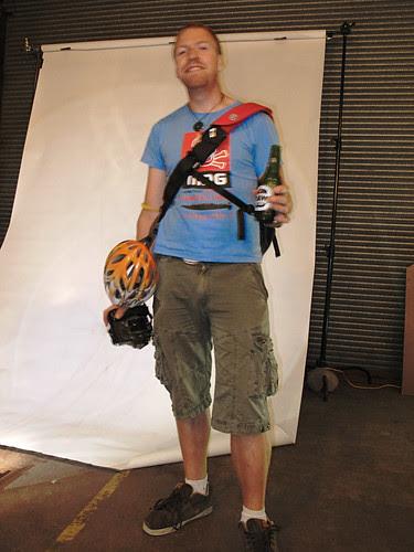 Portrait, Bike Kit, Spoke + Spool Launch