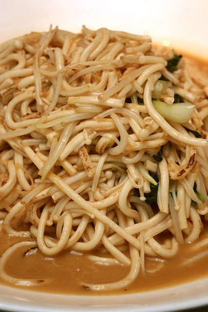 Stewed Fish Noodle with Conpoy and Enoki Mushroom