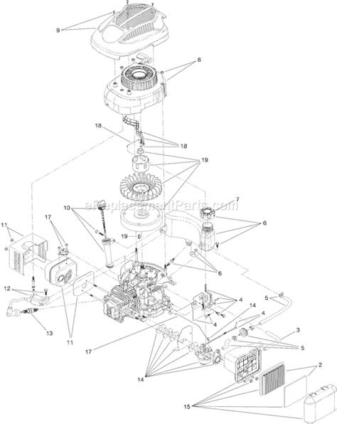 Toro 20323 Parts List and Diagram - (310000001-310999999