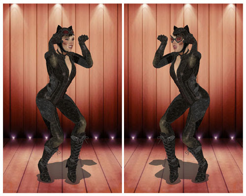 MMD Catwoman