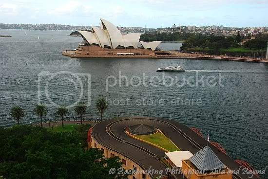 Sydney Opera House and Hyatt Park Hotel
