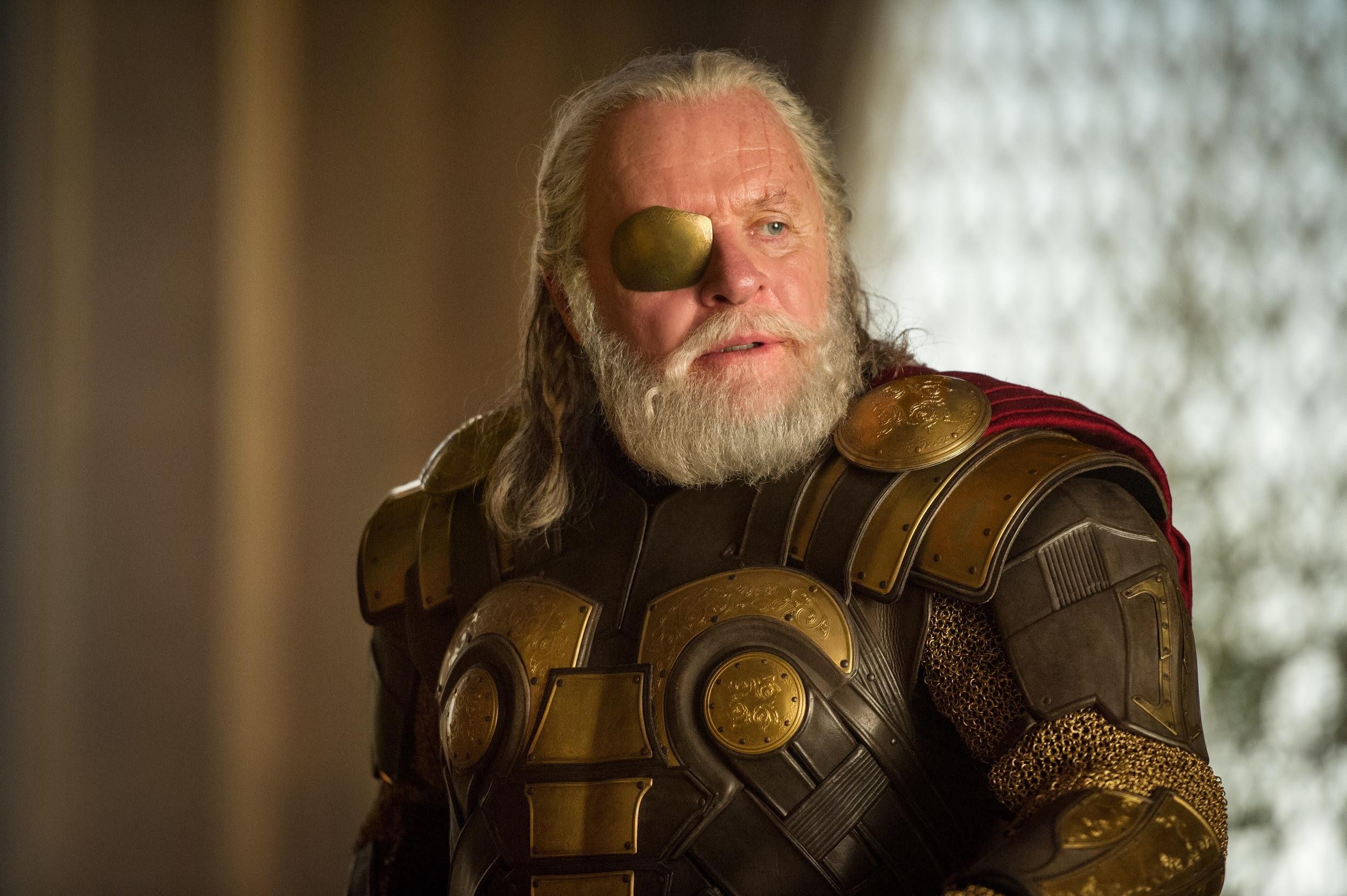 Odin, film Odin, Odin Anthony Hopkins, Odin dans Marvels Thor: The Dark World