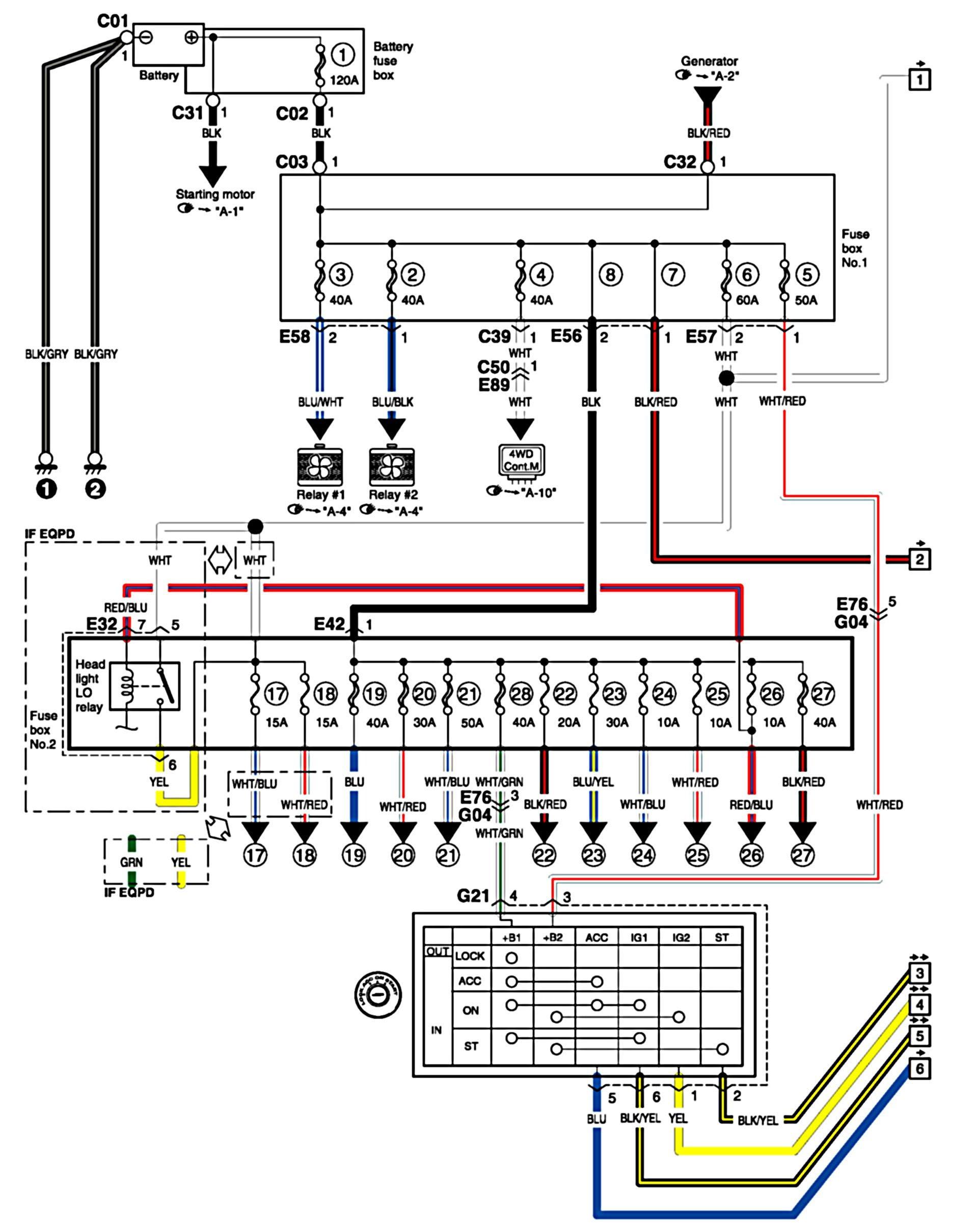 Suzuki Wiring Schematic - Wiring Schema Collection