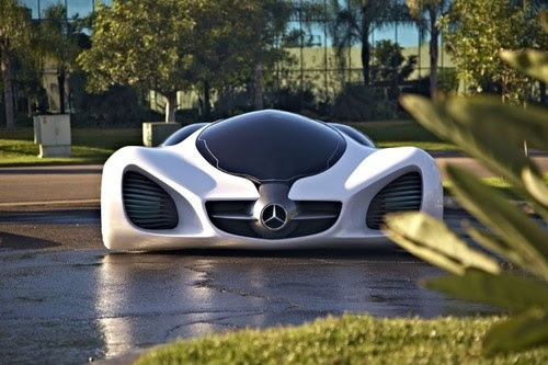 Mercedes-Benz Thinks Cars Like This Could Be Grown In Labs