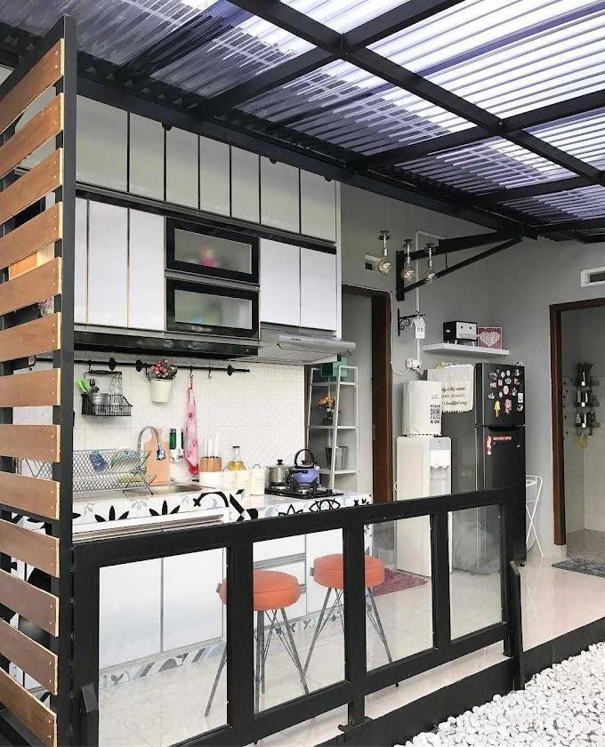 Dapur Outdoor Ala Cafe | Ide Rumah Minimalis
