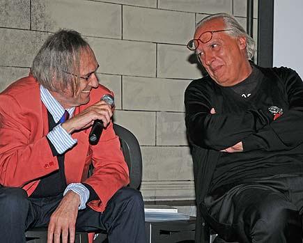 Nico Orengo e Giuseppe Conte