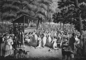 Tent-show-revivalism
