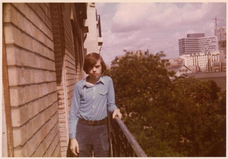 Balcon paris yvesh annees1970b