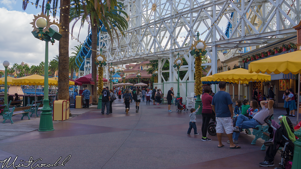Disneyland Resort, Disney California Adventure, Paradise Pier, Christmas Time, Christmas, 2014