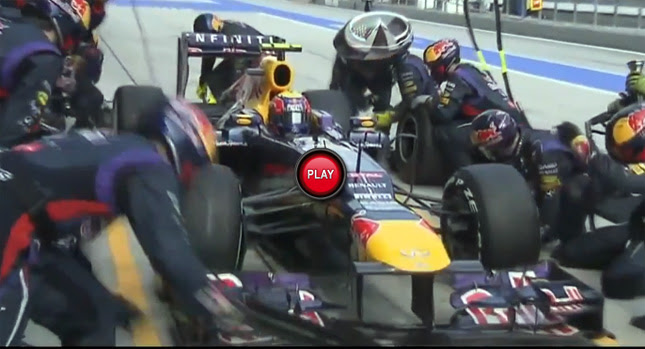 Red Bull Racing Pit Crew Breaks World Record By Changing