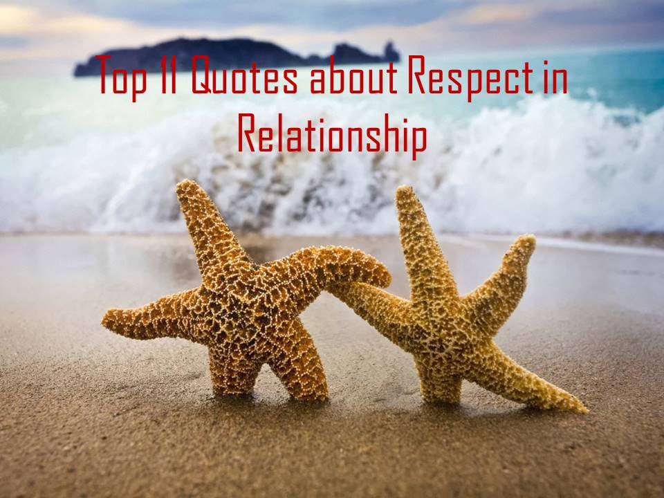 Top 11 Quotes About Respect In Relationship
