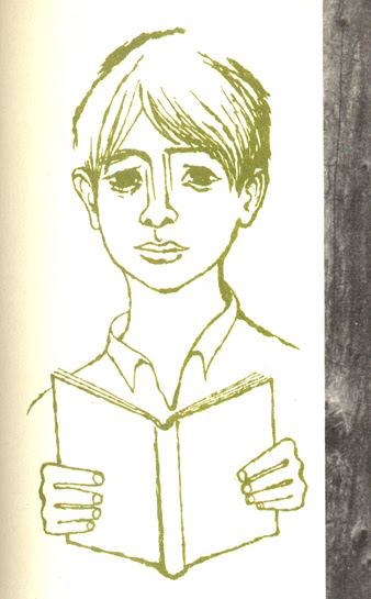 Growing Toward Peace: boy with book