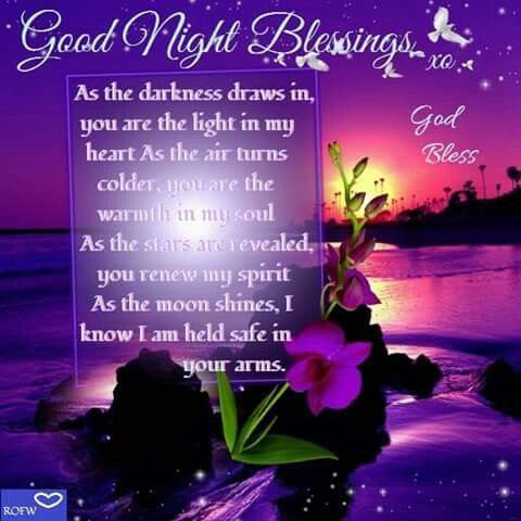 Good Night Blessings Pictures Photos And Images For Facebook